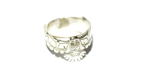 Silver Owl ring - Appeal Apparel
