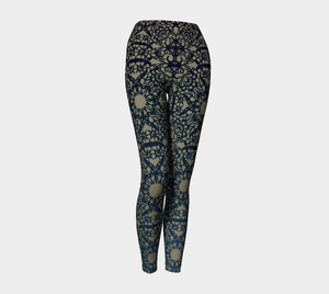 Pattern Of Life Leggings 2 - Appeal Apparel