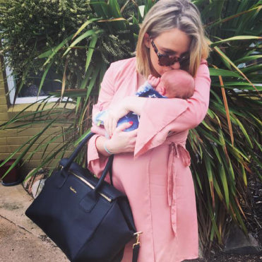 Leda - The perfect bag for a newborn