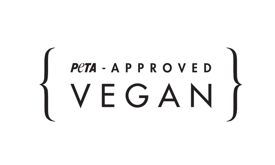 We are proud to be a PETA approved #Vegan brand!