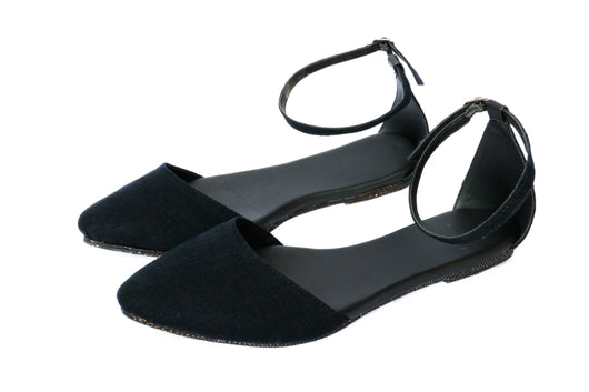 Sehni Ankle Strap Flats