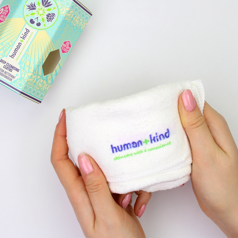 human+kind Deep Cleansing Cloth