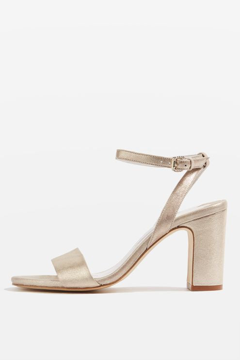 Topshop **bette Block Heel Sandals