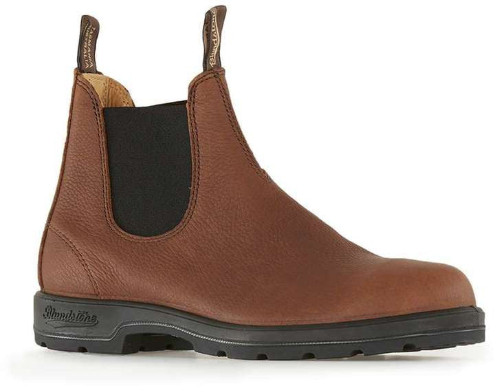 Topman BLUNDSTONE Tan Leather Boots