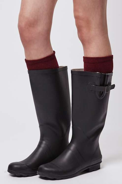Topshop Jacobson drizzle wellies