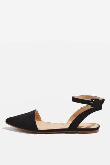 Topshop AIR Two Part Point Court Shoes