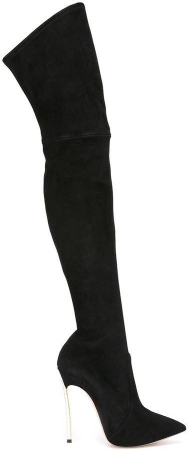 Casadei stretch over-the-knee boots