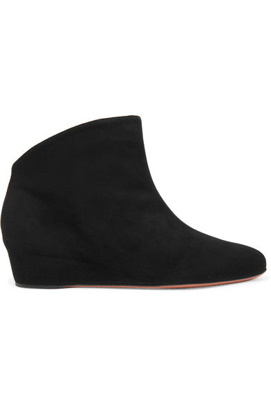 Alaïa Suede wedge ankle boots