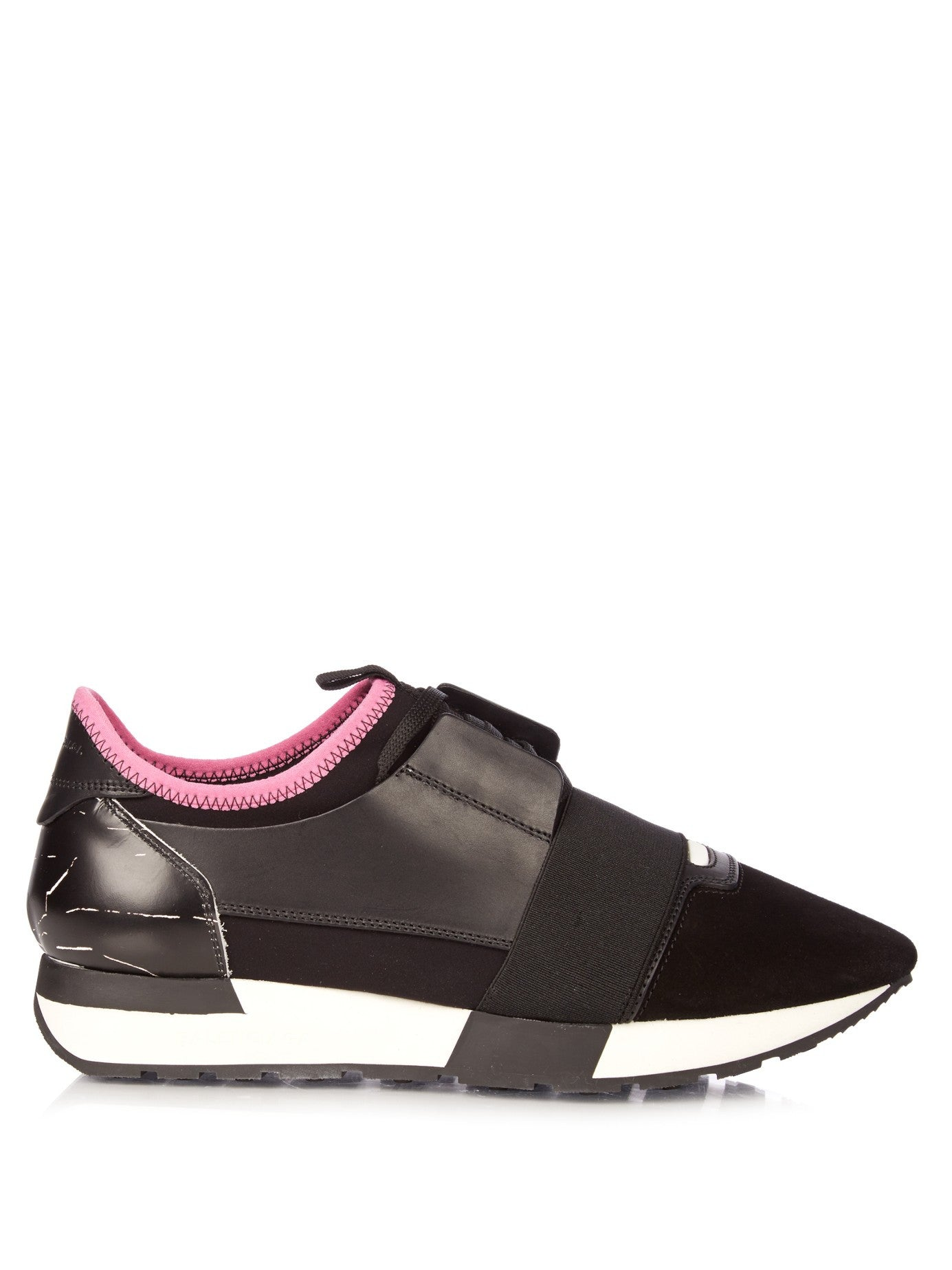MatchesFashion Balenciaga Race multi-panel low-top trainers