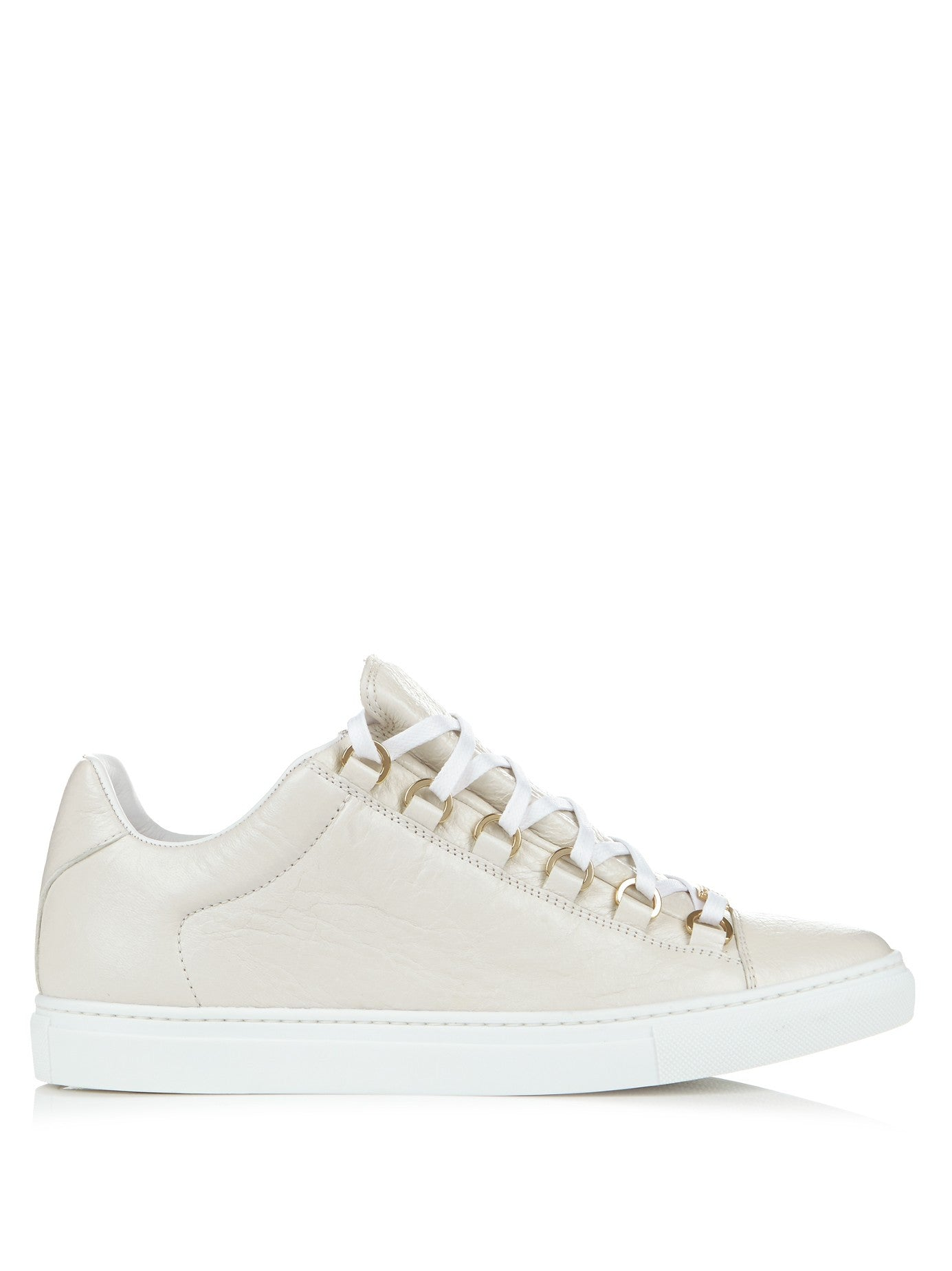MatchesFashion Balenciaga Arena low top leather trainers