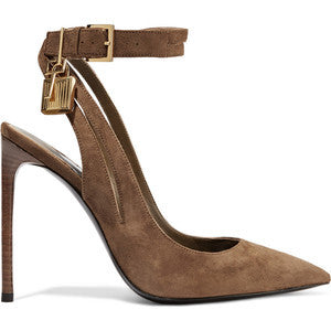 TOM FORD Suede pumps