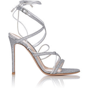 Gianvito Rossi Women's Glitter Ankle-Strap Sandals