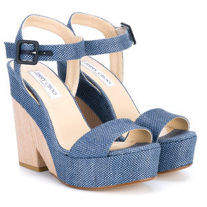 Jimmy Choo Nico Wedge Sandals
