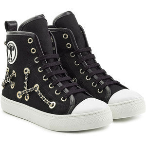 Moschino Chain Embellished High-Tops