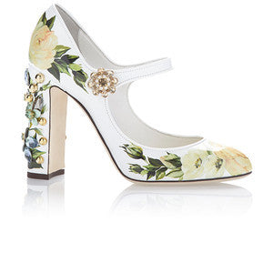 Dolce & Gabbana Floral Mary Jane Pump