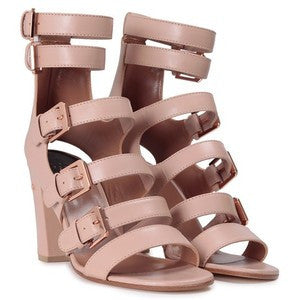 LAURENCE DACADE Dana multi buckle leather sandal