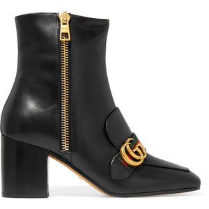 GucciLeather Ankle Boots