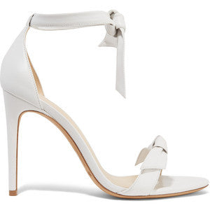 Alexandre BirmanClarita Bow-embellished Leather Sandals
