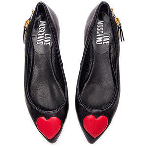 Love Moschino Heart Flat