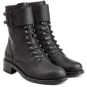 Philosophy di Lorenzo Serafini Leather Biker Boots