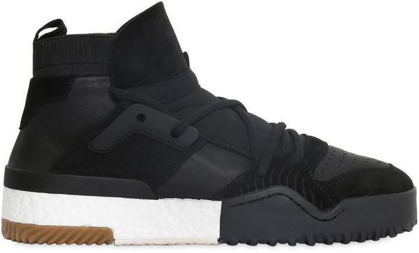 Luisaviaroma Adidas Originals By Alexander Wang 20mm Bball Leather & Suede Sneakers