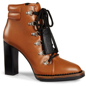 Tod's - Lace-up Ankle Boots in Leather
