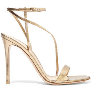 Gianvito Rossi Metallic High Sandals