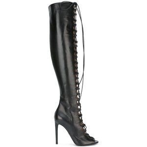 Giambattista Valli lace-up thigh high boots