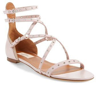 Valentino 'Love Latch' Strappy Grommet Sandal (Women)