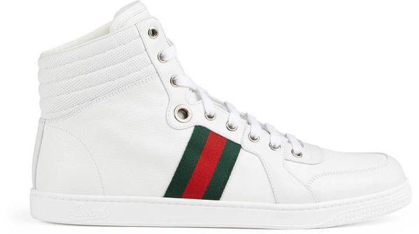 Gucci Leather high-top sneaker