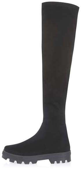 Topshop Dial over the knee boots