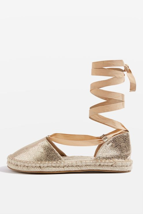 Topshop Aria two part espadrilles