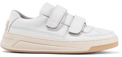 Acne Studios Steffey Leather Sneakers - White