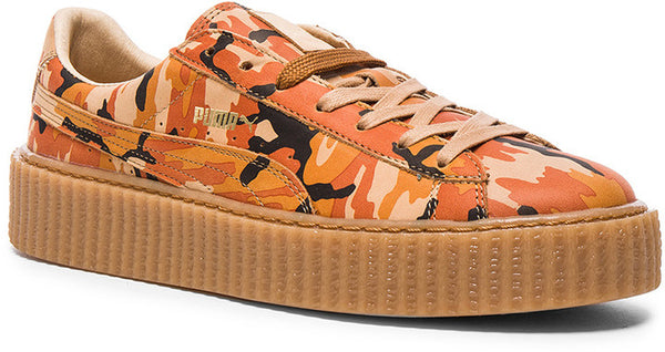 Forward By Elyse Walker Fenty by Puma Leather Camo Creepers