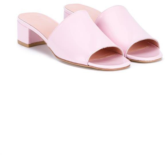 Maryam Nassir Zadeh Sophie Patent Leather Slides