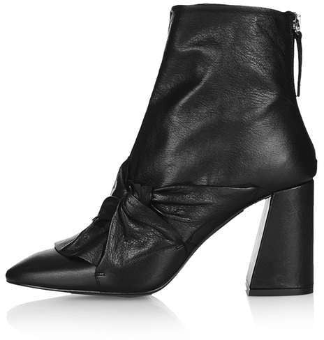 Topshop Monroe high ankle boots