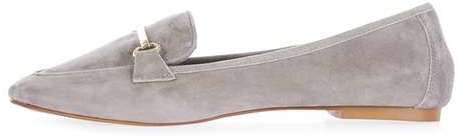 Topshop Libby trim softy loafer