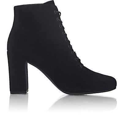 Saint Laurent Babies Lace-Up Ankle Boots