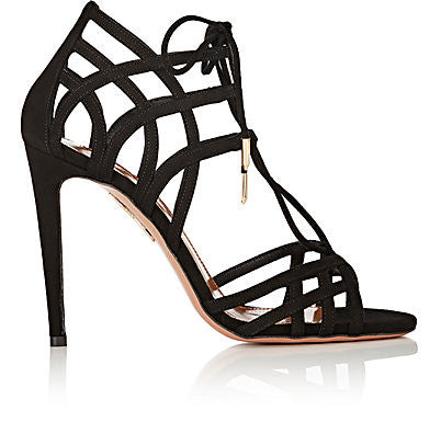 Aquazzura Ginger Lace-Up Sandals