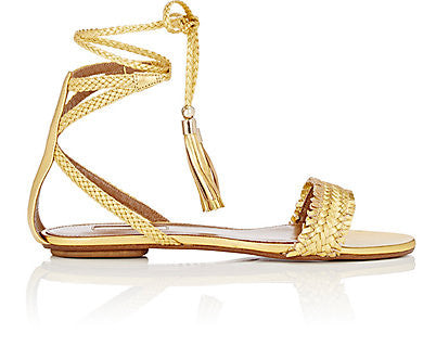 Aquazzura Sun Valley Flat Sandals