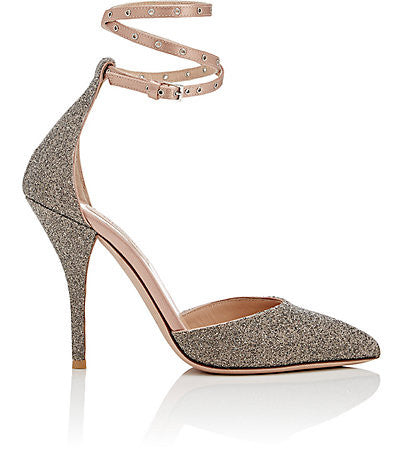 Valentino Love Latch Ankle-Strap Pumps