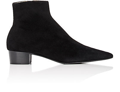 The Row Ambra Suede Ankle Boots