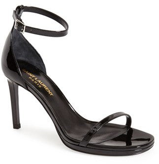 Saint Laurent 'Jane' Ankle Strap Sandal