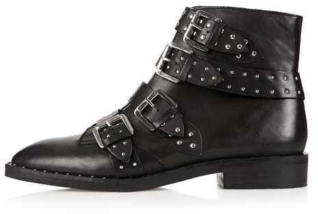 Topshop Amy studded ankle boots