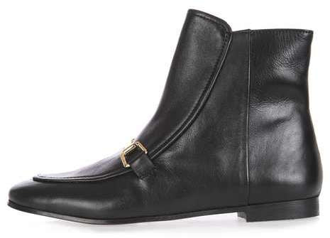Topshop Apple-pie loafer boot