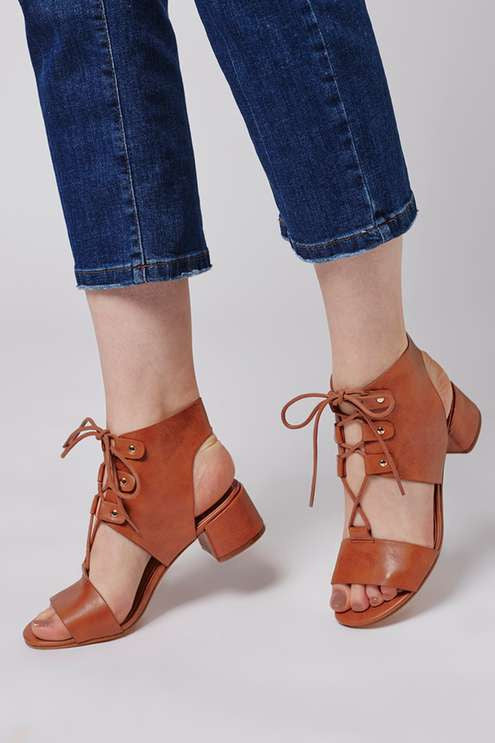 Topshop Dance lace up sandal