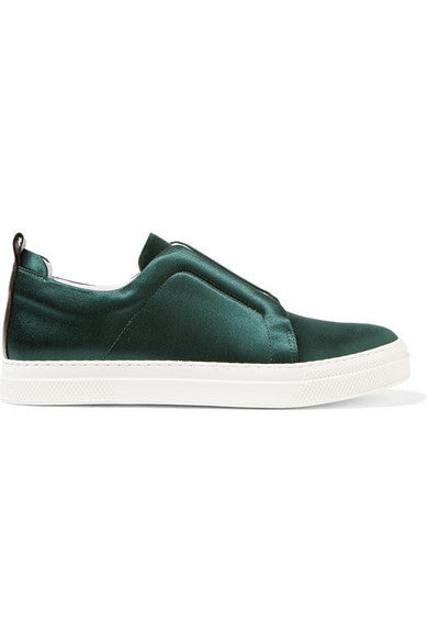 Pierre Hardy Slider satin sneakers