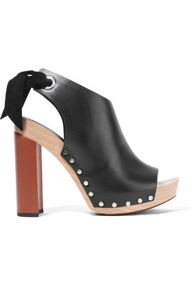 Proenza Schouler Leather platform sandals