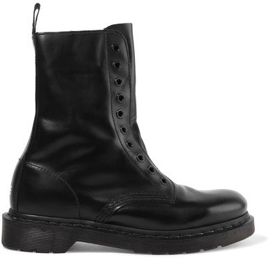 Vetements + Dr. Martens Leather Boots - Black