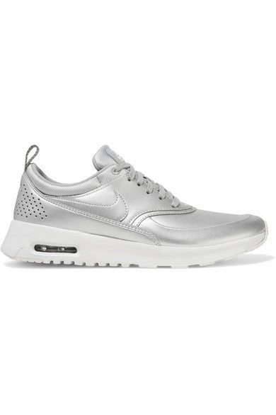 Nike Air Max Thea metallic leather sneakers